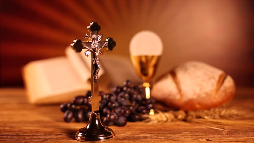 holy communion bread wine の動画素材 完全ロイヤリティフリー