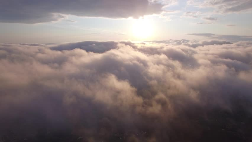 Aerial view above the clouds | Shutterstock HD Video #16882309