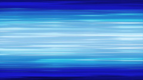 Anime Blue Horizontal Speed Lines - Seamlessly Looping Background