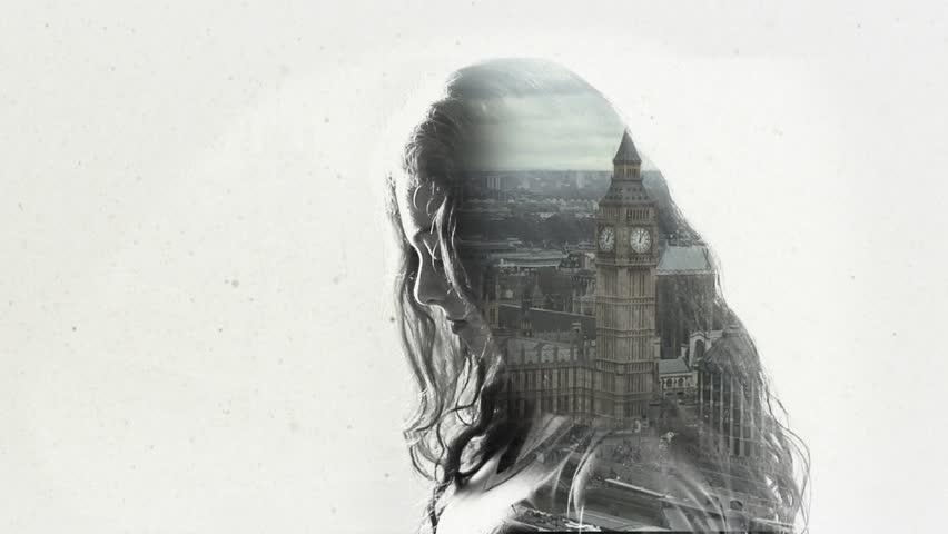 Double exposure - London   Shutterstock HD Video #17104234