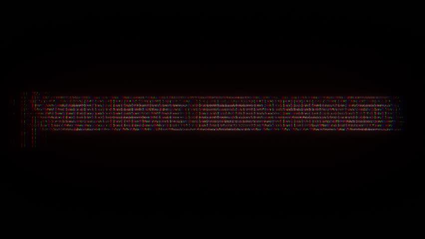 Ascii Text Reveal Hacked Red Vidéos de stock (100 % libres de droit)  17429953 | Shutterstock