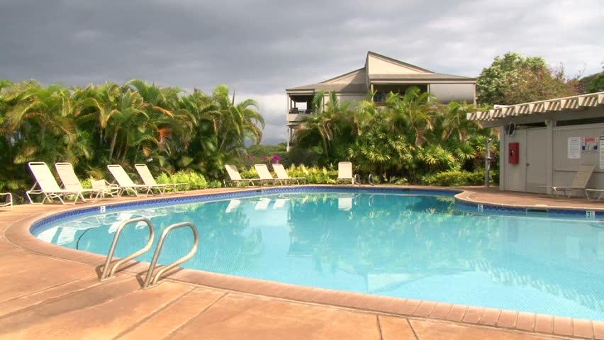 Swimming Pool On Maui Hawaii 100 17713183