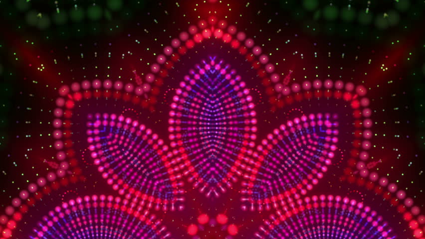 Hypnotic kaleidoscope stage visual loop for concert, night club, music video, events, show, fashion, holiday, exhibition, LED screens and projection mapping. | Shutterstock HD Video #17804113