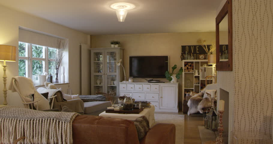 Living Areas In Family Home