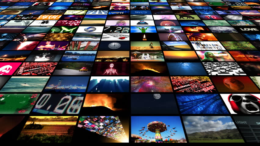 Video Wall Media Streaming HD | Shutterstock HD Video #1789433