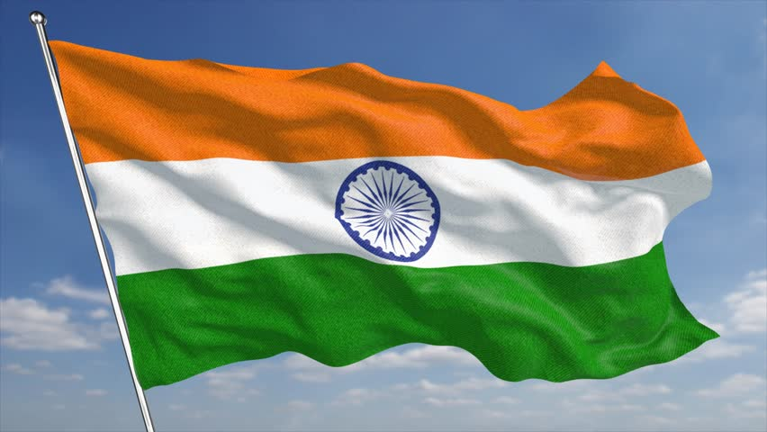 Clothe India Flag Hd: The 4K India Flag Animated Background Features A