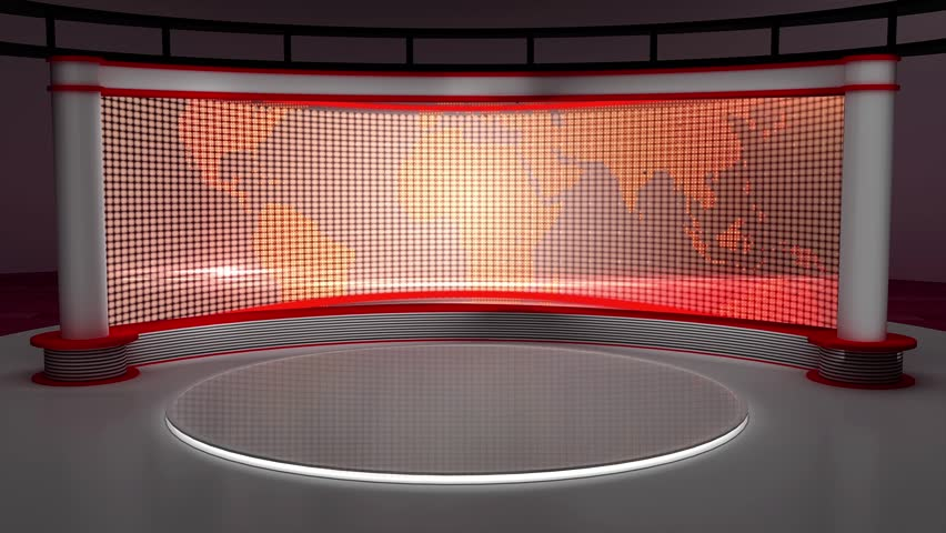 News tv studio set stock footage video 100 royalty free 17960863 shutterstock - Set video as wallpaper ...
