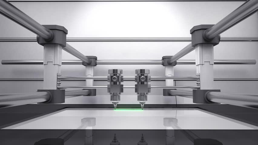 Header of 3D scanner