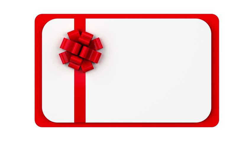 Blank gift card animation stock footage video 17989783 shutterstock negle Gallery