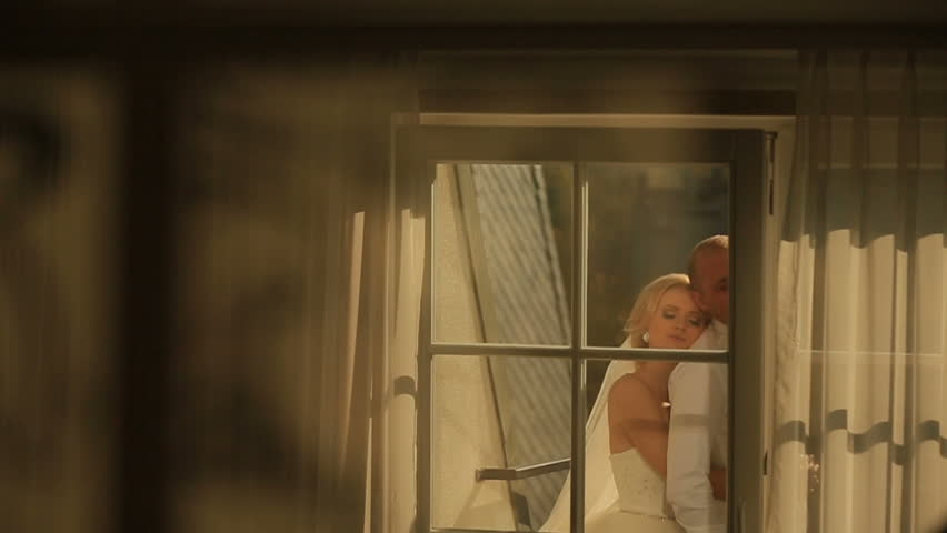 Stock Video Of Moment Of Tender Love Shappy Newlyweds  Shutterstock