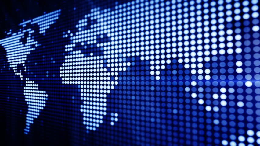 World map stock footage video shutterstock world maps point art series 4 version from 1 to 5 thing gumiabroncs Image collections