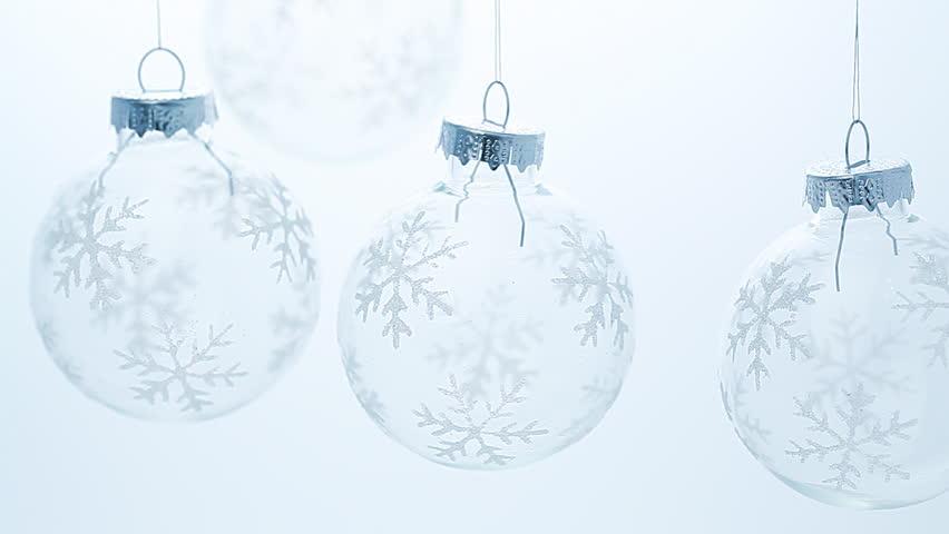 the glass christmas balls turns stock footage video 100 royalty free 1812623 shutterstock - Glass Christmas Balls