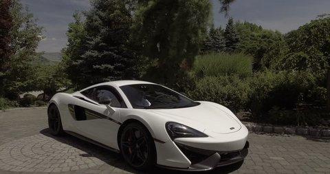 McLaren Car Aerial