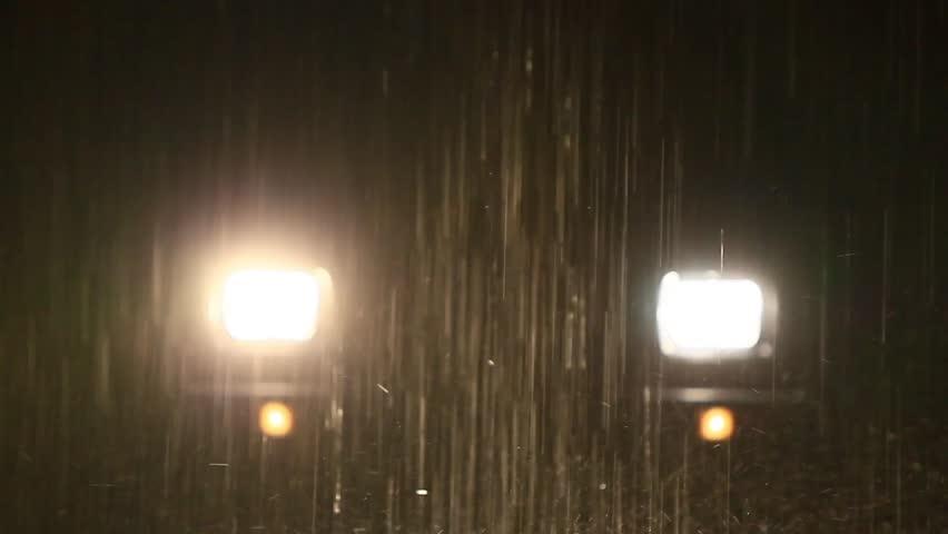 Heavy Rain In Ecuadorian Tropical Stock Footage Video 100 Royalty