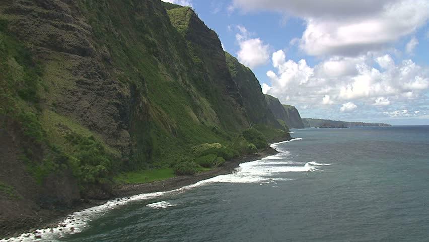 Waterfalls along the Hamakua Coast, Hawaii