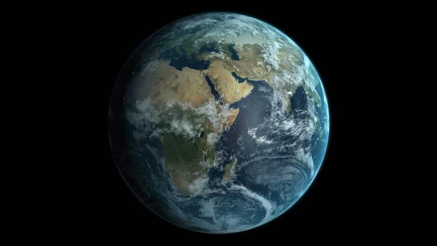 Earth Globe. Thanks NASA Stock Footage Video 256222 ...