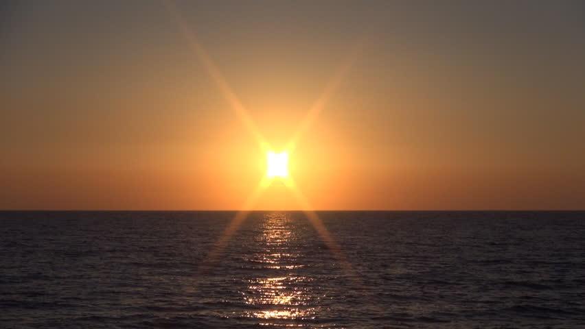 Beautiful sunset time lapse on a splendid summer day from Corfu Island seashore. | Shutterstock HD Video #18442063