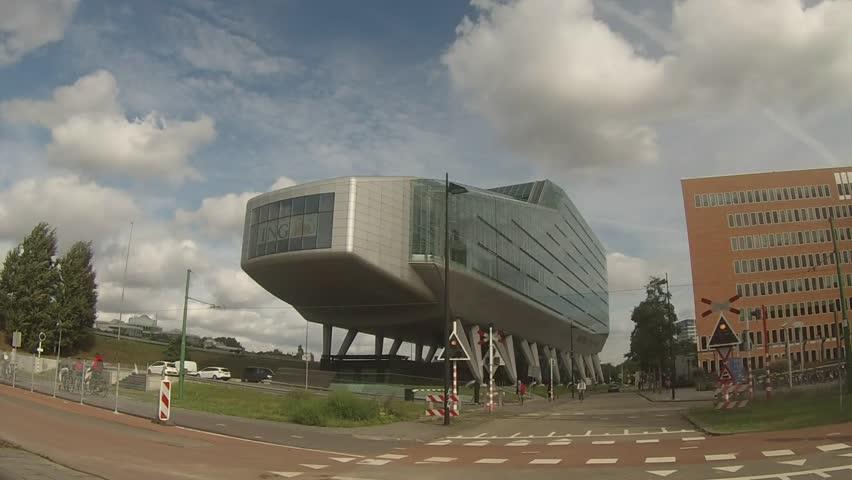Ing Kantoor Amsterdam : Luchtfoto winkelcentrum amsterdamse poort en kantorengebied