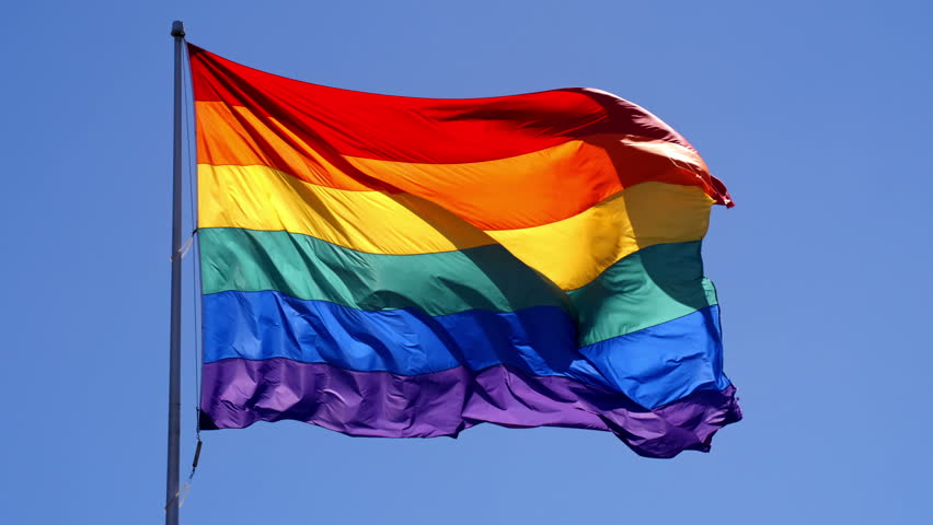 Slow Motion Gay Pride Flag Stock Footage Video (100% Royalty-free) 18565433  | Shutterstock