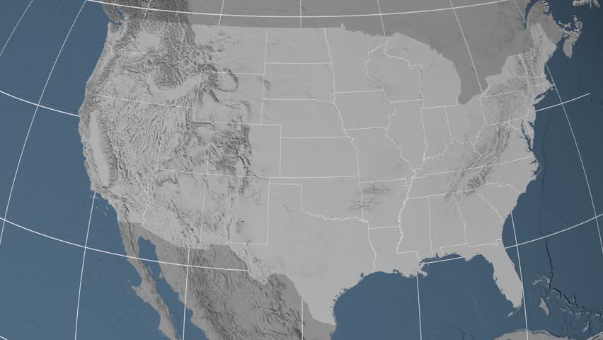Unisys Weather US Elevation And Elevation Maps Of Cities - Interactive elevation map of us