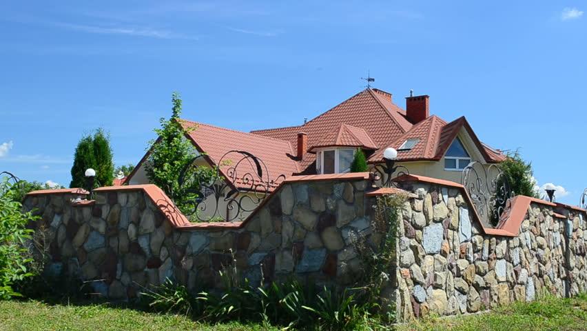 House under the sky. | Shutterstock HD Video #18643823