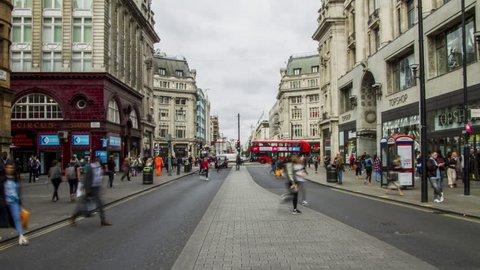A busy Oxford Street, London 11 Aug 2016