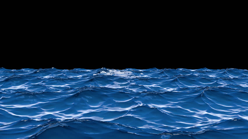 blue sea landscape waves background loop background