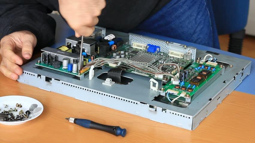 Technician Fixes Circuit Board Screws Stock Footage Video (100%  Royalty-free) 1885543   Shutterstock