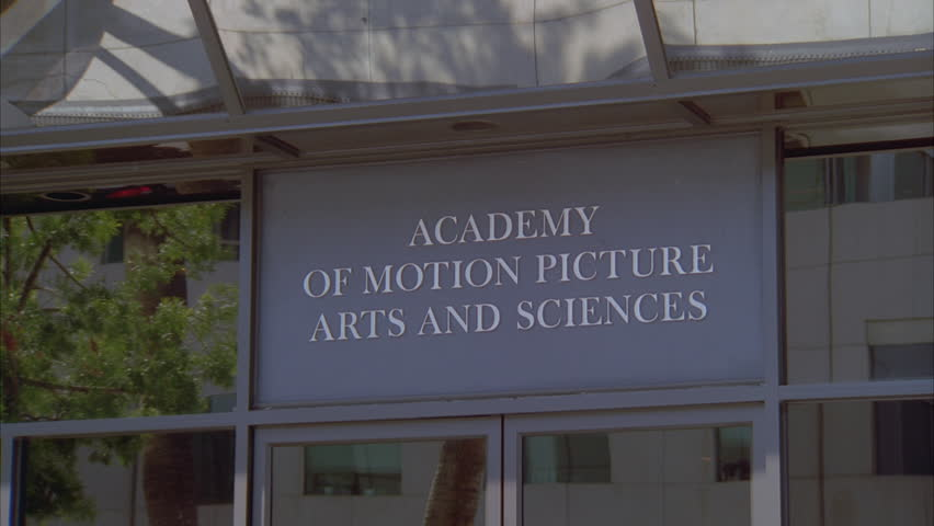 Header of Academy of Motion Picture Arts and Sciences