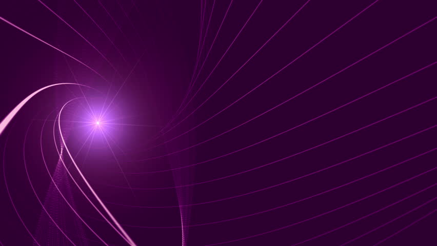 Shiny 3d lines slowly moving on abstract background with lens flare effect.   Shutterstock HD Video #18992533
