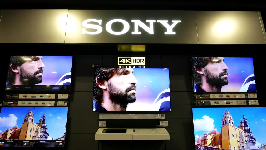 sony tv best buy. Coquitlam, BC, Canada - August 04, 2016 : Motion Of Display 4k Sony Tv On Sale Inside Best Buy Store Stock Footage Video 18999493 | Shutterstock L