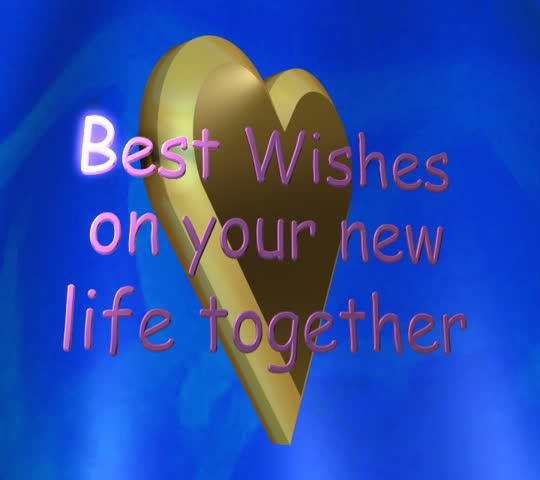 Awesome Best Wishes On Your New Life Together Lettered Animation Stock Footage  Video 1902883 | Shutterstock Regard To Best Wishes In Life