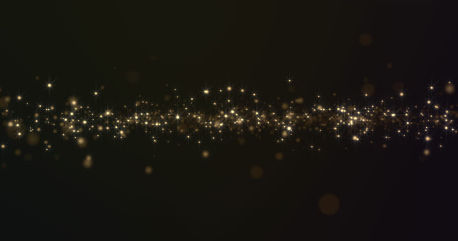 Abstract Gold Particles Background | Shutterstock HD Video #19212967