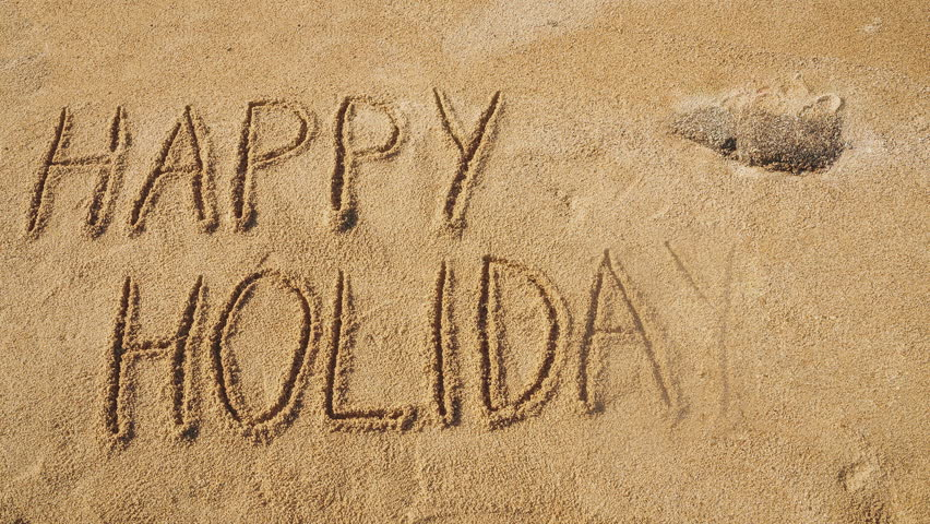 Image result for happy holidays in text letters