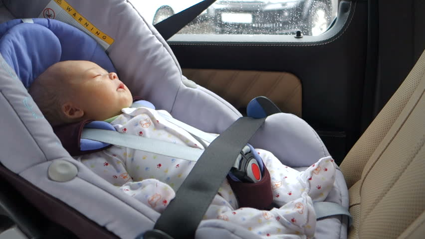 Baby child fastened security belt safety car seat