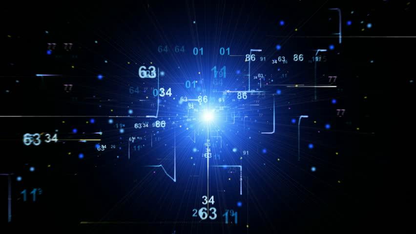 Digital Binary Code Background Loop Stock Footage Video (100% Royalty-free)  1943293 | Shutterstock