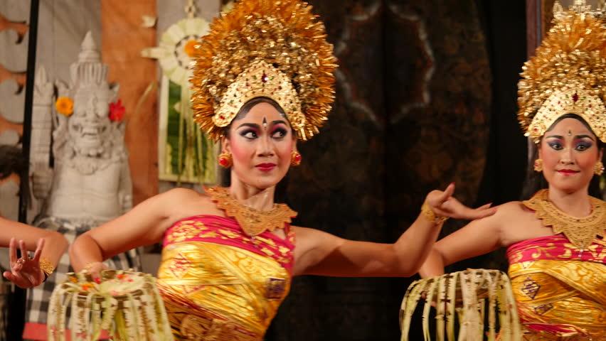 Ubud Bali Indonesia September Stockvideos Filmmaterial 100