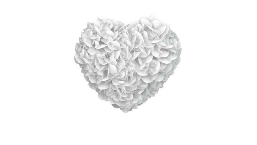 Heart of White Papers exploding