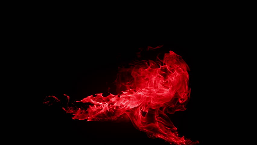 High quality motion animation representing mystical fire or magic special effects, animated on a black background.  | Shutterstock HD Video #19653550