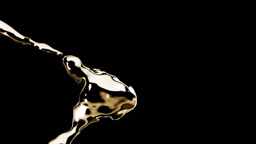 High quality motion animation representing various abstract and fluid metallic liquid elements, animated on a black background. | Shutterstock HD Video #19717213