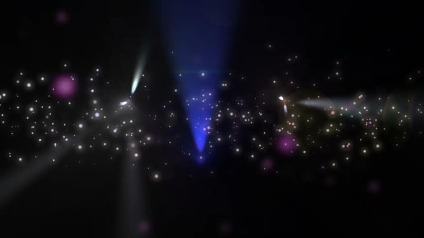 Lens light stars party | Shutterstock HD Video #19758433