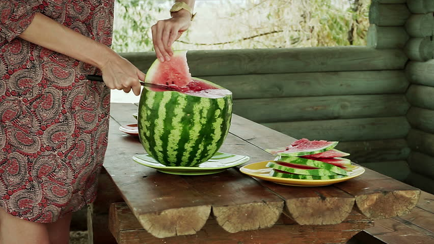 How To Cut A Watermelon Video