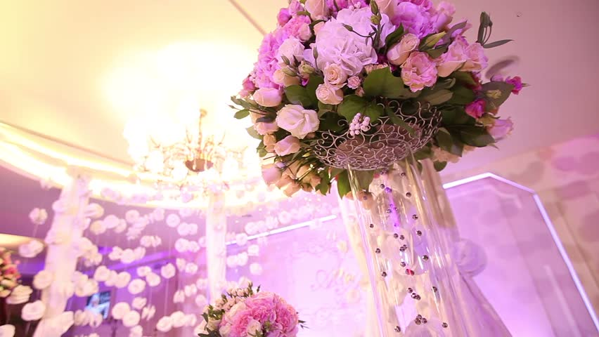 Wedding Decoration Wedding Arch Of Stock Footage Video 100 Royalty Free 19886443 Shutterstock