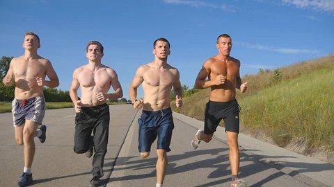 """Résultat de recherche d'images pour """"men jogging in group"""""""
