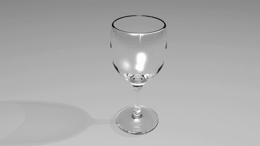 Wine pouring into glass 3d animation | Shutterstock HD Video #200113