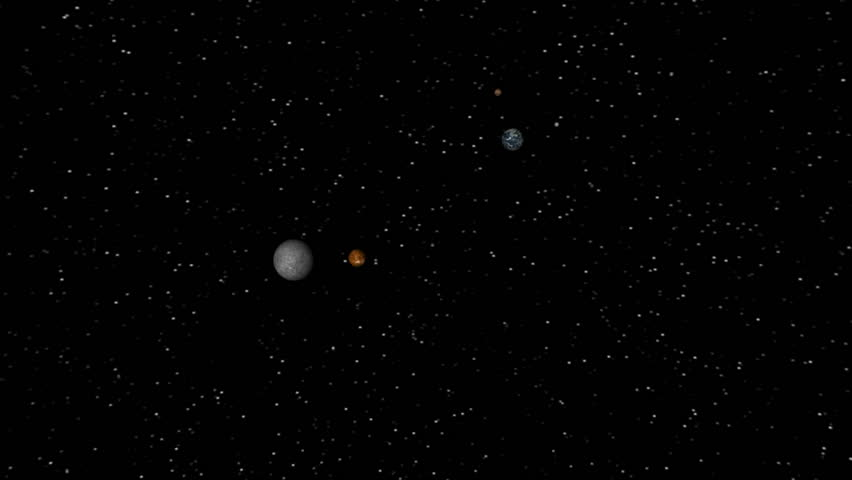 Solar System Tour. A quick tour of the planets of our solar system (including Pluto) and some of their larger moons. NASA maps used for planetary and moon images.