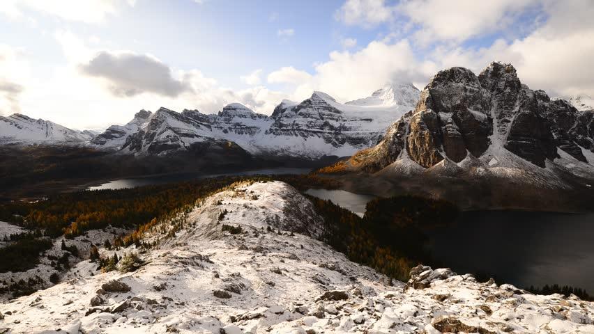 morning at Mount Assiniboine,Mount Assiniboine Provincial Park, British Columbia-Alberta border , Canada