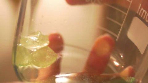 crystal meth drugs concept