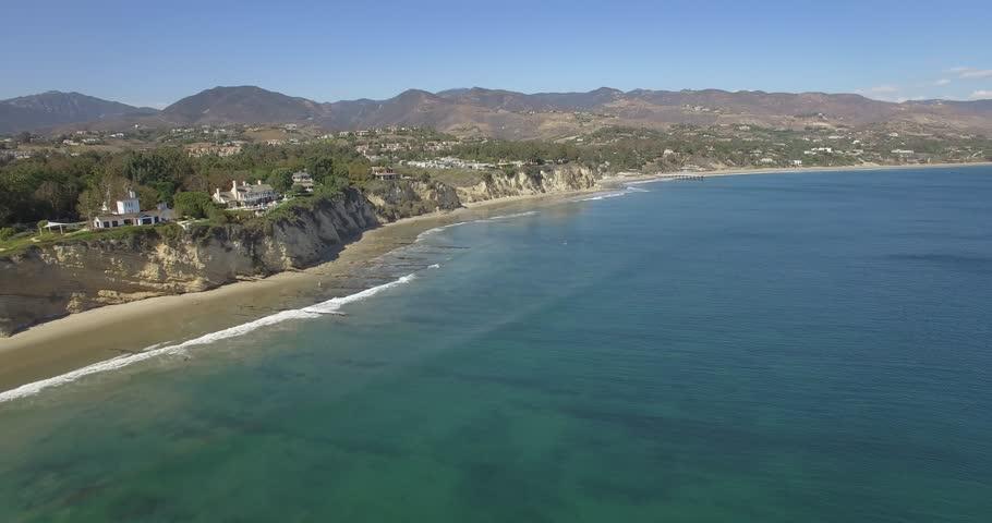 Paradise Cover Beach Malibu Aerial 2