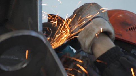 Grinding of welded joints